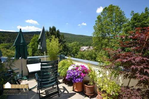Sehr schöne Dach-Terrassenwohnung in gepflegter Villa im 2. Liftstock