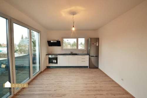 Moderne Mietwohnung, inkl Küche und PKW-Stellplatz in der Garage