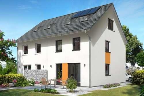 Town & Country, Ziegel-Massiv, familienfreundliche, zentrale, sonnige Lage,das Doppelhaus Wien 130 in Bürmoos