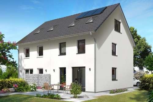 Baubewilligtes AUSBAUHAUS; DHH Wien 139 von T&C in St. Georgen bei Salzburg,