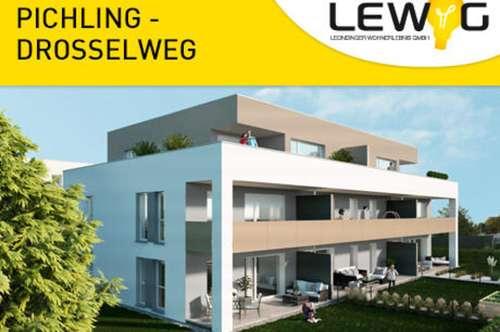 Gef. 3-Raum-Eigentumswohnungen mit Balkon in Pichling