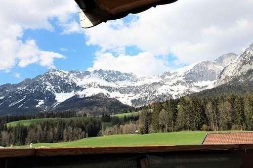 Atemberaubende Dachgeschoßwohnung mit Panoramablick auf den Wilden Kaiser!