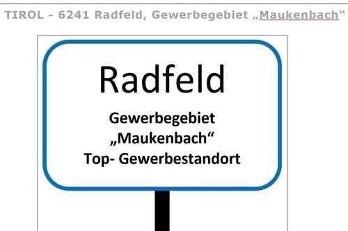 Top GEWERBEGRUNDSTÜCK(e) im TIROLER Unterland, Gemeinde Radfeld
