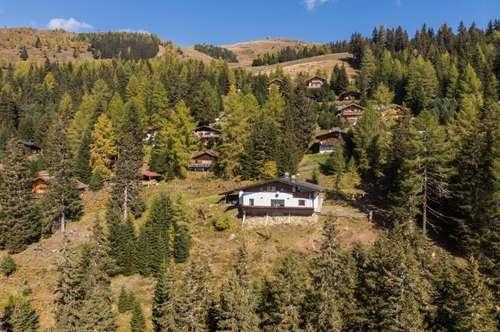 großes Almhaus - Freizeitwohnsitz in Panoramalage