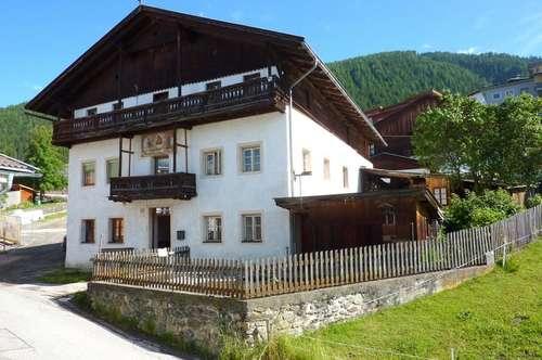Liebhaberobjekt - Miet-Bauernhaus im Ortszentrum von Anras