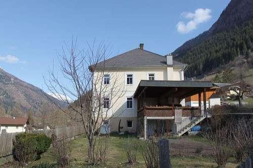 Geschichtsträchtiges Wohnhaus in Mörtschach
