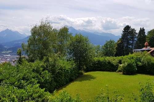 Baugrundstück in herrlicher Panoramalage über Innsbruck