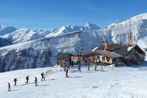 Almhütte im Skigebiet Großglockner