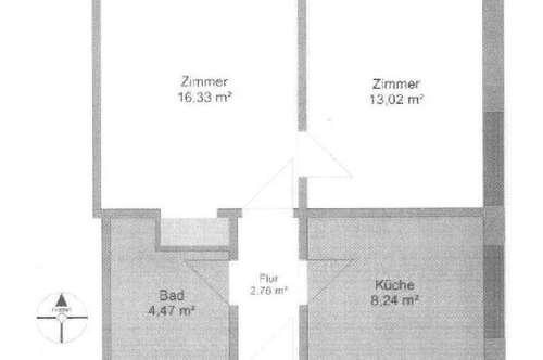 Anlegerwohnung in Bahnhofnähe