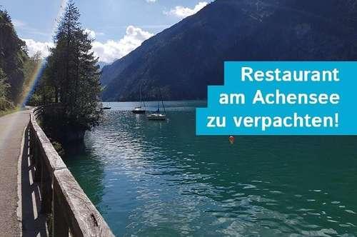 Gut eingeführtes Restaurant am Achensee