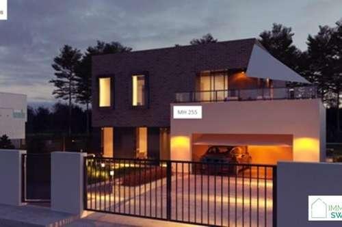 B 2486 Pottendorf - Top modernes Einfamilienhaus Schlüsselfertig mit Garage!