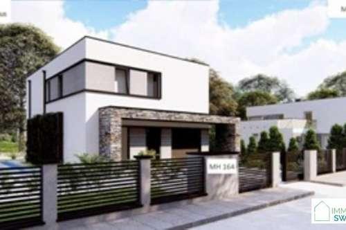 B 2483 Ebreichsdorf/Weigelsdorf - Top modernes Einfamilienhaus Schlüsselfertig mit Garage!