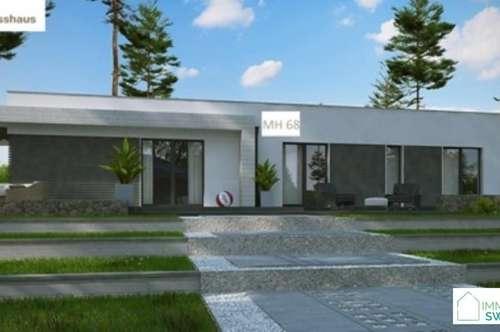 A Siegendorf - Moderner Bungalow mit Garage in Ruhe Lage!
