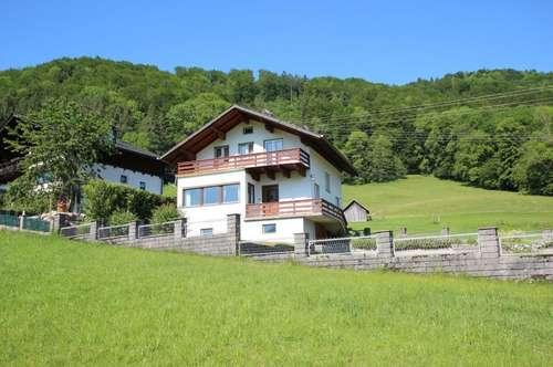 Einfamilienhaus mit freiem See- und Gebirgsblick