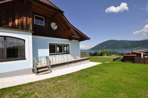 Schöne Mietwohnung mit Top-Seeblick, großer Terrasse und Eigengarten, Garage und Freistellflächen