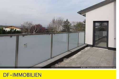 DACHTERRASSENWOHNUNG in MÜNCHENDORF (Bezirk Mödling), 103 m², 4 Zimmer, 2. Liftstock, 27 m² südseitige Dachterrasse. Barrierefrei!