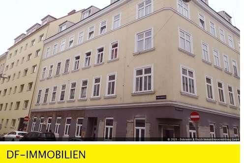 Schöne klassische, ruhig gelegene 62 m2 Altbauwohnung mit 2 großen sonnigen Zimmern im 3. Liftstock