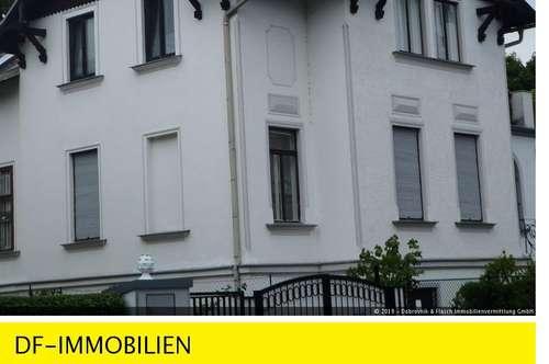 Stadtvilla in bester Döblinger Grünruhelage. Wunderschöne, sonnige 3 Zimmer-Gartenwohnung