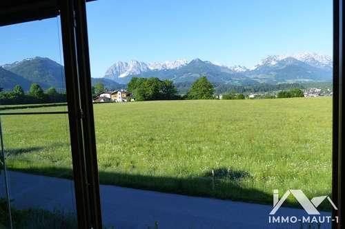 [360° Tour] Kössen: 3-Zimmer-Freizeitwohnsitz in idyllischer Lage zu verkaufen!