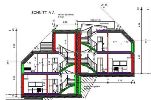 € 350.000,00,- !!  Grundstückgr. 950m²1140 Wien,  mit traum Blick auf die Hohe Wand Wiese!  Einfamilienhaus mit 2 Wohneinheiten + 2 Garagenplätzen!