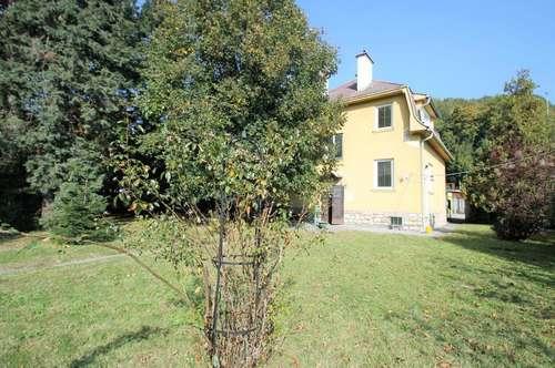 +Ein-/Mehrfamilienhaus 155m² Wfl. 8 Zimmer, Balkon + Sauna +Garten 500m²+