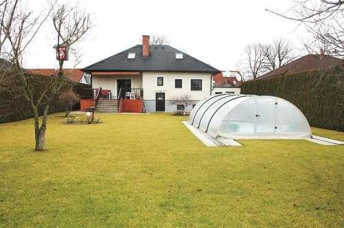 ++790 m² großem Garten++Weigelsdorf bei Baden++Einfamilienhaus++Pool++
