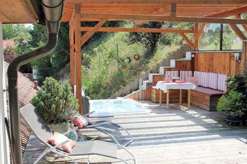 HAUS NÄHE DONAUUFER+210m² Wohnfläche+Grundstück 900m²+Sauna-Wellness,Whirlpool,6 Zimmer+