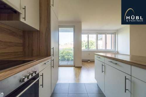 Ruhig gelegene 2 Zimmer Wohnung mit LOGGIA (6 m²) und offener Wohnküche in Penzing