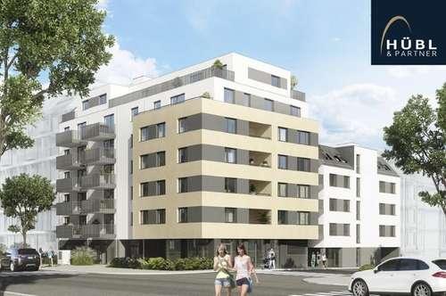 Wohnen in der Lobau I 2 Zimmer Apartment mit Terrasse und Garten I Neubau
