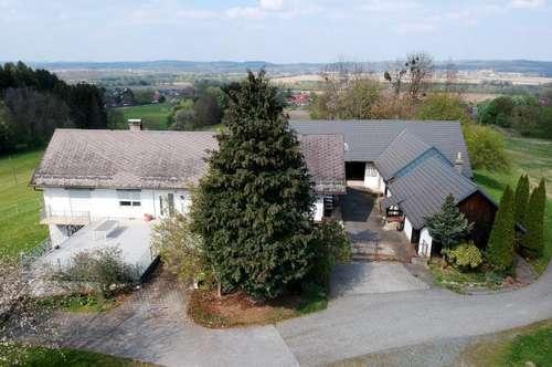 Absolute Ruhe- und Alleinlage: Saniertes Einfamilienhaus (170m²) mit Nebengebäude in der Nähe von Mogersdorf!