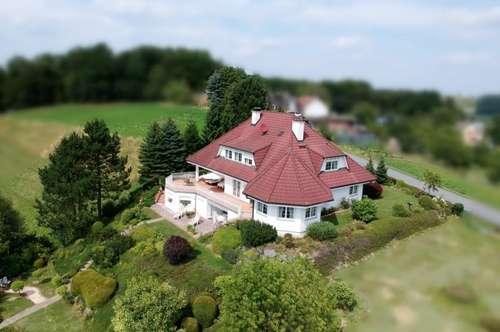Exklusive Villa in einzigartiger Lage mit wunderschönem Panoramablick - Nähe Therme Loipersdorf!