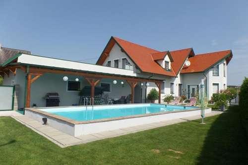 Nähe Güssing: Wunderschönes, großzügiges Ein-/Mehrfamilienhaus (245m²) mit Pool!