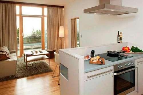 Exklusive Eigentumswohnung (56m²) mit Terrasse! Wohnen im 4**** Hotel neben der Therme Loipersdorf! Provisionsfrei!