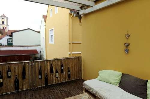 Großzügige Mietwohnung (86m²) mit überdachter Terrasse im Zentrum von Fürstenfeld!