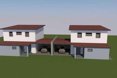 Neubau: Moderne Doppelhaushälfte (94m²) in zentraler Lage in Fürstenfeld! Provisionsfrei!