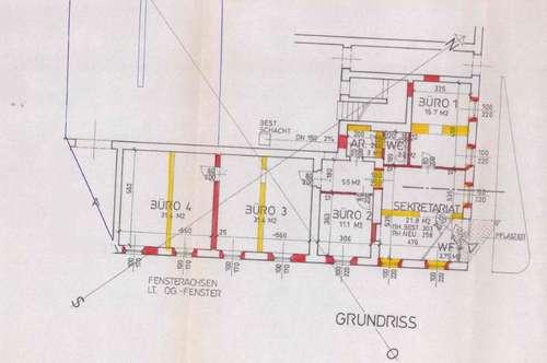 Generalsanierte Bürofläche (150m²) in top Innenstadtlage in Fürstenfeld zum Mieten!