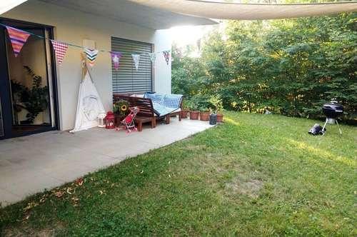 Wunderschöne Gartenwohnung: Helle Mietwohnung (75m²) mit großzügiger Terrasse und Garten in ruhiger zentraler Lage in Fürstenfeld!