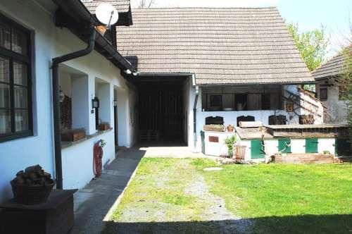 Rustikaler 3-Kanthof (110m²) mit Nebengebäude in ruhiger Lage - Nähe Mogersdorf!