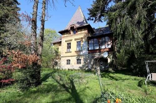 Romantische Jahrhundertwendevilla in Zentrumslage