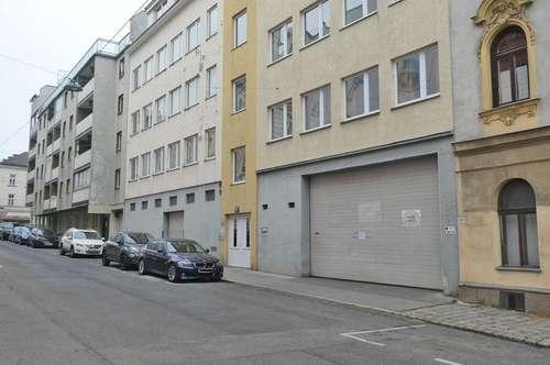 Halle zwischen Ottakringer und Thalia Straße