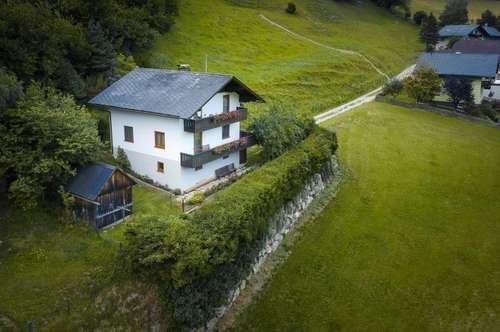 Einfamilienhaus im Großsölktal mit Ausblick