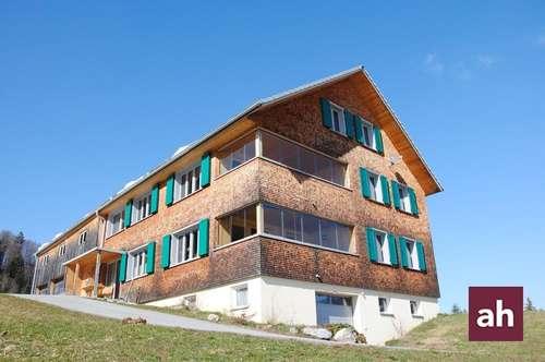Wohnen im Grünen! 3-Zimmer-Wohnung in Hittisau