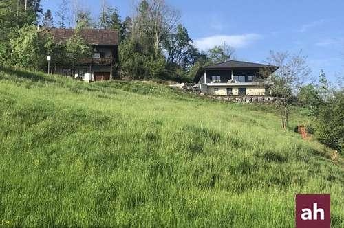 Feldkirch: Traumhaft sonniges Hanggrundstück!