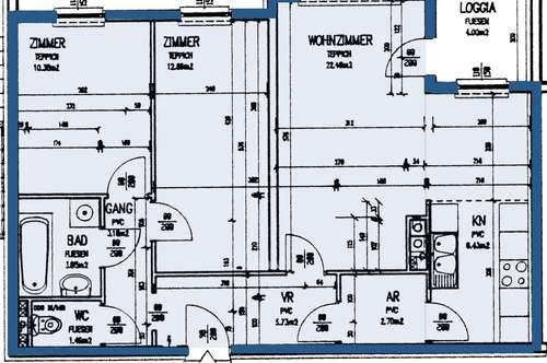 Brunn/Pitten. 3 Zimmer Mietwohnung | Sonderwohnbau.