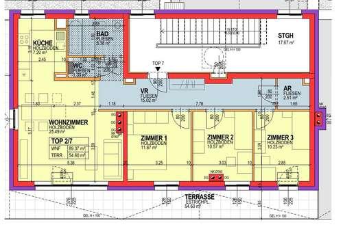 Asparn/Zaya. Geförderte 4 Zimmer Wohnung | Dachterrasse | Miete mit Kaufrecht.