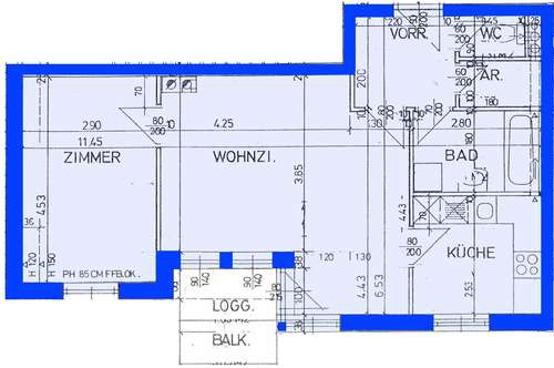 Bad Traunstein. Geförderte 2 Zimmer Wohnung | Loggia | Miete oder Soforteigentum.
