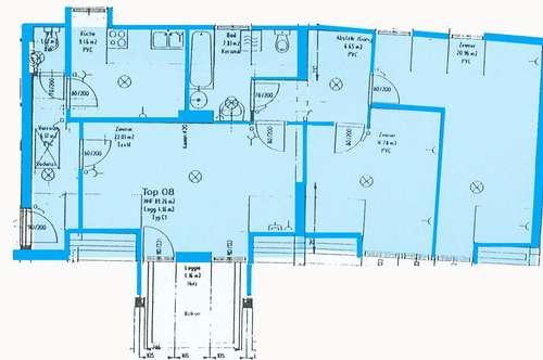 Kilb. 3 Zimmer Mietwohnung   Loggia   Sonderfinanzierung.