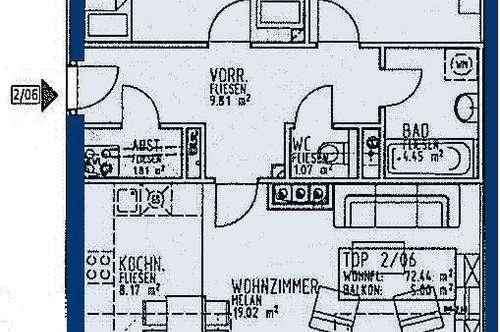 Rainfeld. Geförderte 3 Zimmer Wohnung | Balkon | Miete mit Kaufrecht.