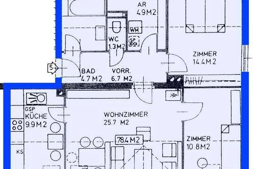 Sitzendorf/Schmida. Ab März 2020 | Geförderte 3 Zimmer Wohnung | Balkon | Miete mit Kaufrecht.