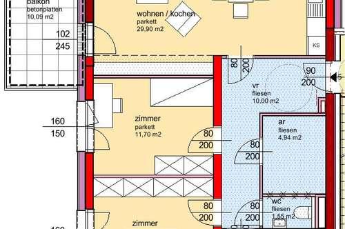 Winklarn. Erstbezug Frühjahr 2020 | Balkon | Miete mit Kaufrecht.